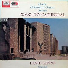 GREAT ORGAN SERIES Coventry Cathedral - David Lepine LP