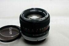 Canon FD 50mm f1.4 Lens *Excellent*