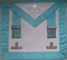 Past / Worshipful Master Masonic Apron – Imitation Lambskin – LR265