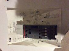 Contacteur disjoncteur moteur ABB DLA26-30 (jamais utilisé)