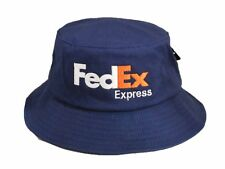 FedEx Express Flexfit Bucket Hat Yupoong Fishing Cap Custom Embroidery Navy