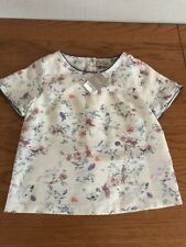 Next girls Floral top age 12 years Rrp- £21