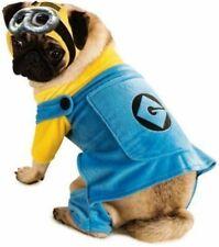 Despicable Me Pet Minion Dog Clothes Costume Goggles Dress Up SM MD LG XL