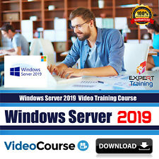 Windows Server 2019  (8 modules 16 Hours) Video Training Course DOWNLOAD