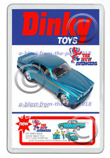 DINKY TOYS 113 THE NEW AVENGERS JAGUAR (STEEDS) NEW JUMBO FRIDGE LOCKER MAGNET