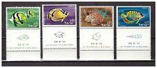 s30081) ISRAEL MNH** 1962 Fish 4v