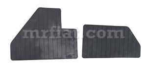 Ferrari 365 GT 4BB 512BB 512BBi Heel Tap Rubber Mat Set For Floor Mat Carpet New