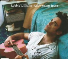 ROBBIE WILLIAMS Advertising Space 2TRX w/ UNRELEASED CD single SEALED USA seller