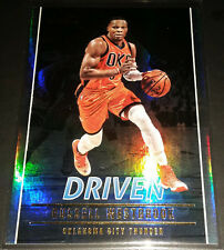 Russell Westbrook 2016-17 Panini Studio DRIVEN Insert Card