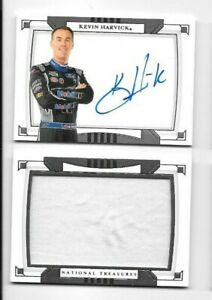 Kevin Harvick 2020 National Treasures BOOKLET AUTO FIRESUIT 14/25