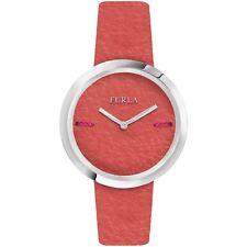 Furla Women's R4251110506 My Piper Orange Leather Wristwatch