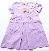 Kleid Gr.98 Lillifee NEU 100% Baumwolle lila flieder glitzer sommer kinder