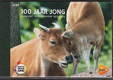 Nederland Prestigeboekje 44 100 jaar Burgers' Zoo - 2013