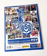 PANINI MSV Duisburg-SET COMPLETO + ALBUM VUOTO - (K). vita. amore passione. MSV