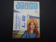 JORGO N.4 Edigrafital originale 09/1969 Morrik Studio Up&Down Zoom - BLISTERATO