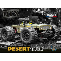 FUNTEK 1/12th Scale 4WD 540 Brushed High Speed Desert Truck - FTK-DTX001