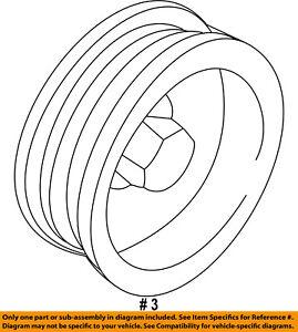 FORD OEM-Alternator Pulley F5AZ10344A