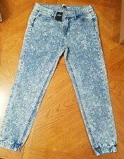 NEW Hollister GIRLS Low RiseJogger Pants  Wash Low Rise Size W 26 or 3 with tag