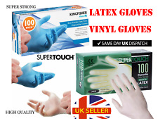 Large Medical Nitrile Vinyl Disposable Powder Latex  Free Antibacterial Gloves