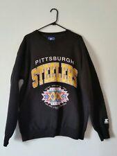 super bowl 30 xxx steelers starter sweater vijtage 90s 1995 1996 streetwear