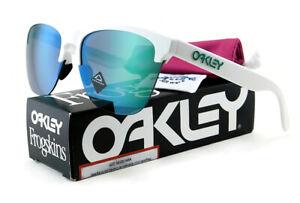 New Oakley FROGSKINS LITE Sunglasses | Matte White / Prizm Jade Iridium Lens