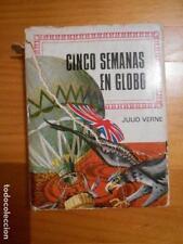 CINCO SEMANAS EN GLOBO - JULIO VERNE - BRUGUERA (1974) - LEER DESCRIPCION (P2)
