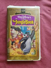THE JUNGLE BOOK (VHS, 1997, 30TH ANNIVERSARY LIMITED EDITION CLAMSHELL)