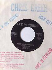"RARE OHIO POWER POP (1979) 45/ CHRIS GREER ""ROCK N ROLL GOODBYE""  NEAR MINT HEAR"