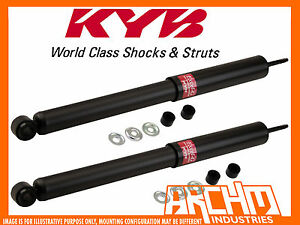 REAR KYB SHOCK ABSORBERS FOR HONDA PRELUDE 10/1987-12/1991
