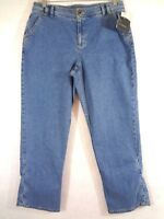 New Liz Claiborne Womens Jeans Audra Size 14 Stretch