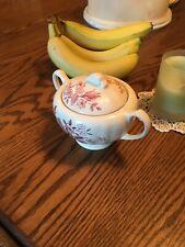 Sugar Bowl White J  & G  Meakin China   eBay