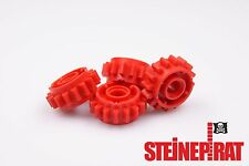LEGO® 4x 18946 ***NEU*** Technic Zahnrad / 16 Zähne / Kupplung / Getriebe / rot
