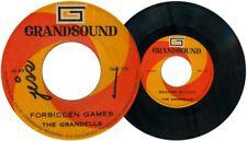 Philippines The GRANDELLS Forbidden Games OPM 45 rpm Record