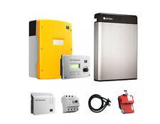 4,68 kW REC Photovoltaikanlage mit  LG Chem Resu 6.5 , nutzbar 5,9 kW/h