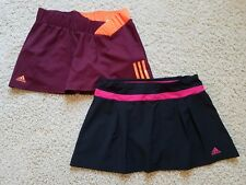 Lot of 2 Women's Adidas Tennis Running Yoga Skirt/Skort/Shorts Size M (EUC)