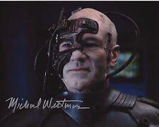 MAKEUP ARTIST MICHAEL WESTMORE SIGNED 'STAR TREK' 8x10 PHOTO W/COA ACADEMY AWARD