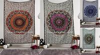 Twin Star Hippie Mandala Psychedelic Wall Hanging Tapestry Bedding Throw Ethnic