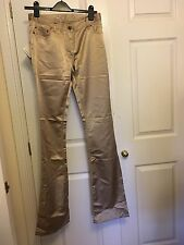 MIU MIU PRADA Gold jeans W29 10-12 BNWT