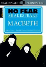 Macbeth (No Fear Shakespeare) by SparkNotes 9781586638467 | Brand New