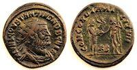 Imperio Romano-Constancio I. Follis. Cyzicus (Grecia). MBC+/VF+ Cobre 3,6 g.