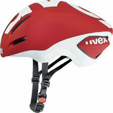 uvex EDAERO aero road cycling helmet red size 53-57