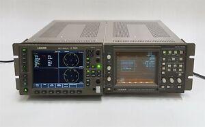 Leader Multi-Monitor LV-5800+LV-5100D Component Digital Waveform Monitor