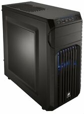 Corsair Carbide Series SPEC 01 BLUE LED Black ATX Mid Tower Gaming Computer Case