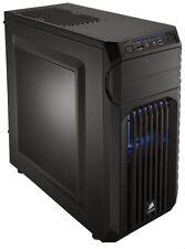 Corsair Carbide Series SPEC 01 BLUE LED Black ATX Mid Tower Gaming Computer Case