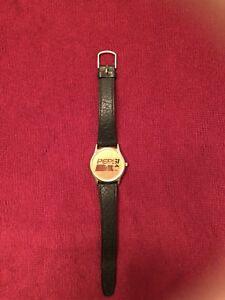 Vintage PEPSI Collectible Wrist Watch, YUM BRANDS