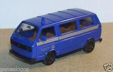 MICRO HERPA HO 1/87 VW MINI BUS SERVICES BIENFAISANCE