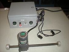 Oriental Motor Linear Actuator with Speed Controller & Limit Switches - Tests OK