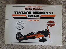 Harley-Davidson Airplane Bank HD-1 First in Series Mystery Ship NIB