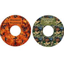 Schamanisches Trommel & Indianer Flöte Musik CDs Entspannung Stressabbau