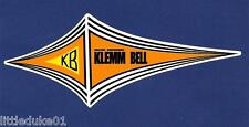 KLEMM BELL SURFBOARDS Vintage / Retro Sticker Decal 1970s LONGBOARD SURFER SURF